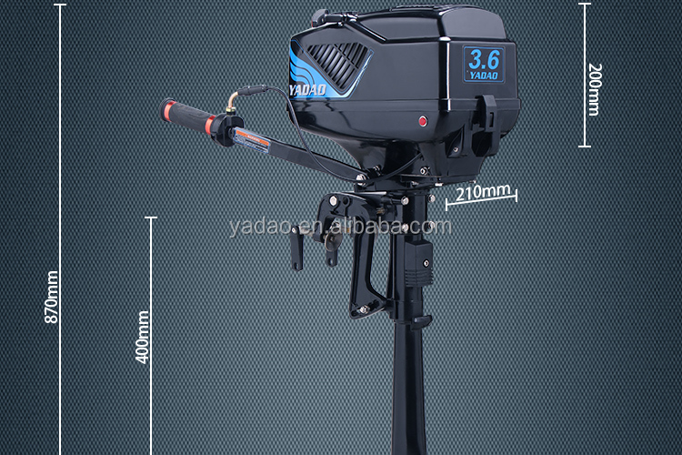 Small 2 Stroke 3.6hp boat outboard motors for Sale
