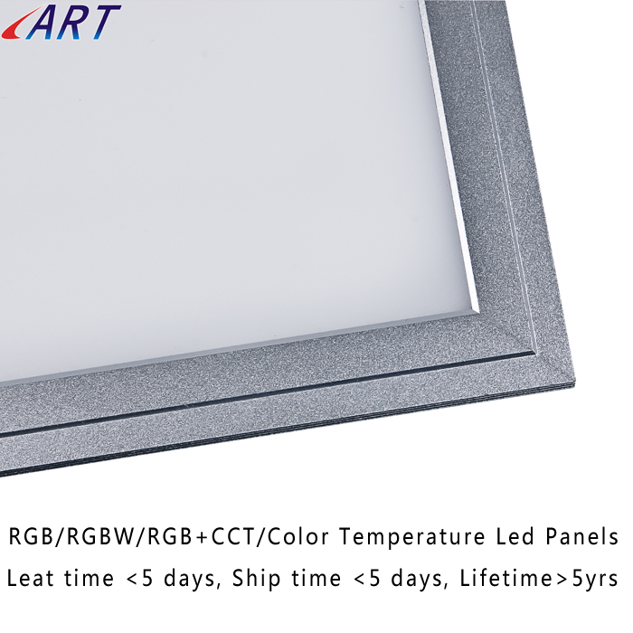 IP65 led panel light UGR<19 rgbw led light panel mini solar panel for led light