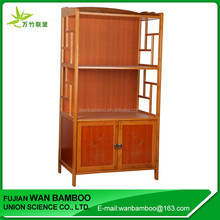 Modern Style Bamboo Storage Cabinet for Hair Salon Use
