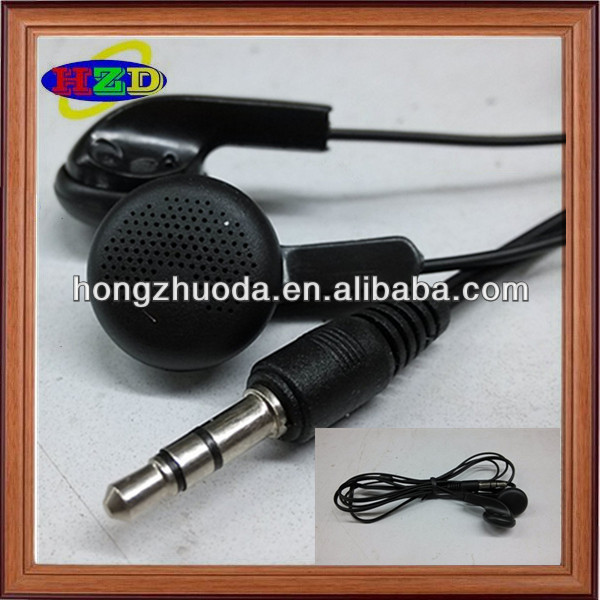 high quality disposable mp3 player earphone from shenzhen