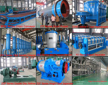 Pictures of machineries in paper and pulp industry / waste paper recycling process plant