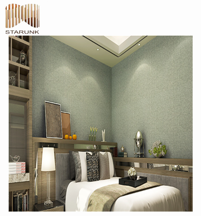 waterproof vinyl bedroom decorative wall covering