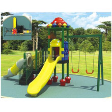 Rubber-coating outdoor school playground equipment for sale