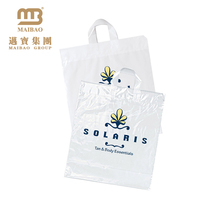 stock distributor not printed plaine packaging plastic shopping bags