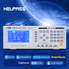 High quality digital lcr meter rlc meter with RS-232C and Handler Interface