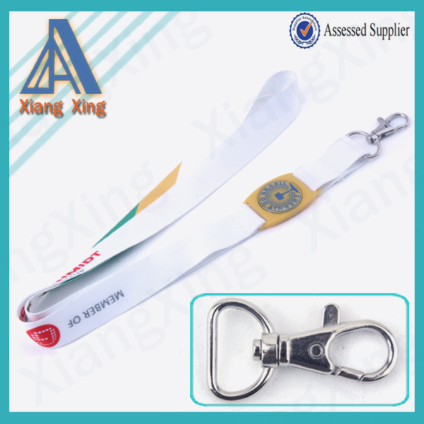 Heat-transfer Cheap YiWu pioneer novelty smooth fabric polyester lanyard patterns