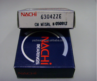 Nachi 6304 Z ZZ Metal sealed ball bearings