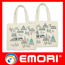 Valentine day gifts 2016 eco friendly cutton reusable shopping bag