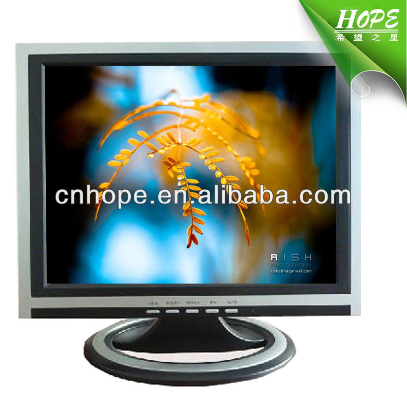 square lcd monitor 15 inch laptop monitor