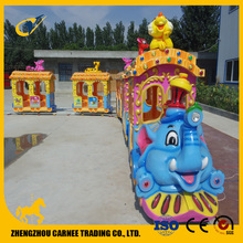amusement park ride funfair outdoor track train tomas kids train for sale
