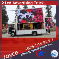 Outdoor Moving Advertising,Led Billboard Truck,Truck Led Billboard Tv