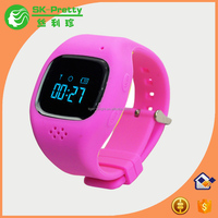New design of 2016 silicone kids gps watch with SIM card cellphone