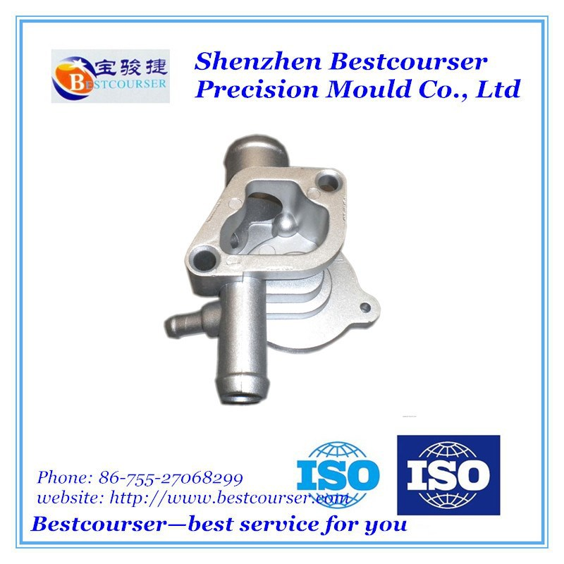 Customized Polishing Aluminum Die Casting Parts for Electric Power Construction