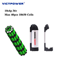 Lithium battery 36v 14ah 10s4p 500wh electric bicycle battery pack victpower