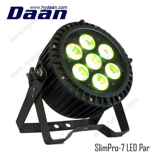 Customized Oem hanging party lights LED RGBWUV PAR 64 Stage Light For DJ