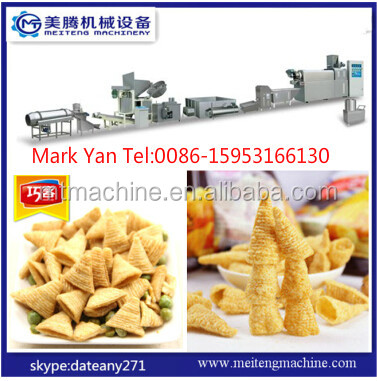 2016 Hot Sale Hot Tasty Crispy Delicious Extruded Snack Food Machine
