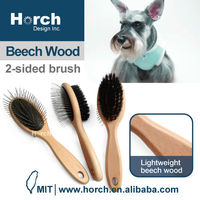Grooming tool durable pad pet round tip pin brush madan