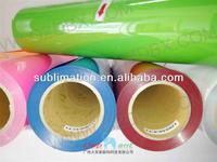 Hot sale custom plastisol heat transfers electroluminescent film heat transfer polyester film