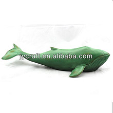 small size nice dolphin and whale animal sculpture models with flat bottom for home decor or windows display