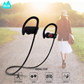 2017 Hotsale on Amazon best sound Noise Cancelling V4.1 ROHS smallest Bluetooth wireless sport headset/earphone RU9