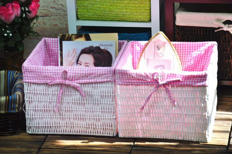 2015 Fashion Handmade Woven PVC Straw Laundry Baskets Bags on sale
