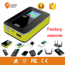 portable hotspot 5200mAh power bank 3g/4g wifi router travel sim card modem LTE wifi router CPE router power bank RJ45