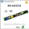 EAST-DG 12w-20w low THDi DG-K2321 open frame high power factor led driver CE/EMC t8 led tube driver 240ma surge protection 1KV