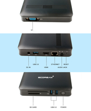 Intel Apollo Lake N3450 4GB RAM 64GB ROM Windows 10 MINI Desktop PC <strong>Computer</strong>