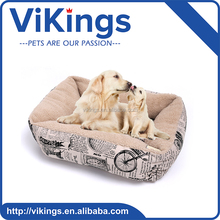 Wholesale Animals Favorite Washable Soft Plush Dog Bed & Comfortable Round Pet Bed