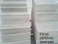 Beige Travertine Floor Cheap Tile Silver White Wooden Marble