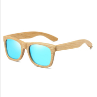 2018 Custom engraved logo fashion polarized wooden sunglasses