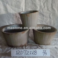 New Garden Idea for 2013 Herb garden pots with handle,set of 3,charming design,
