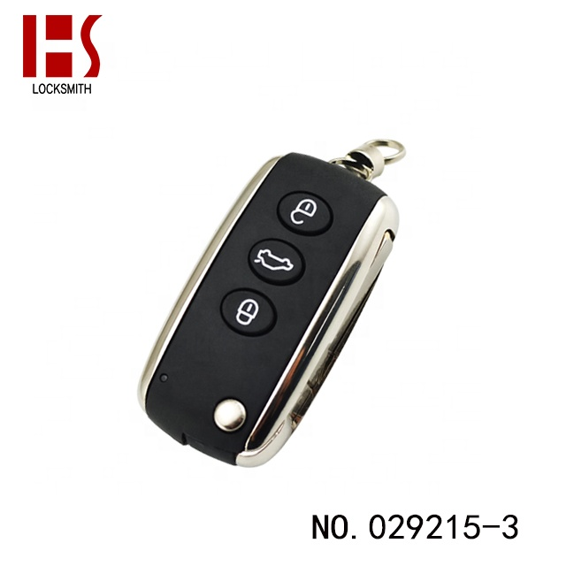 High Quality Wholesale Auto 3 Button 433MHz Smart Car Remote <strong>Key</strong> For Bentley 029215-3