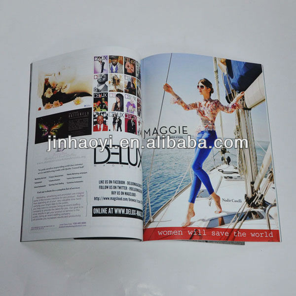 Table tennis, baseball, softball, bowling, football magazine brochure booklet book printing service