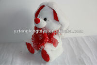 Lovely OEM deisgn Valentine's day rabbit toy