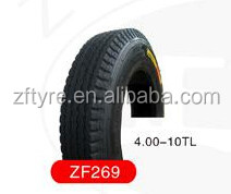 Tire for tricycle and motorcycle 4.00-8