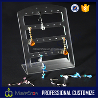 Retail shop acrylic body piercing jewelry display stand