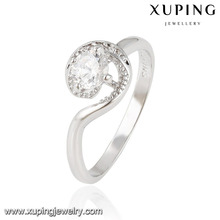 13866-diamond jewelry fashion large stone rings settings