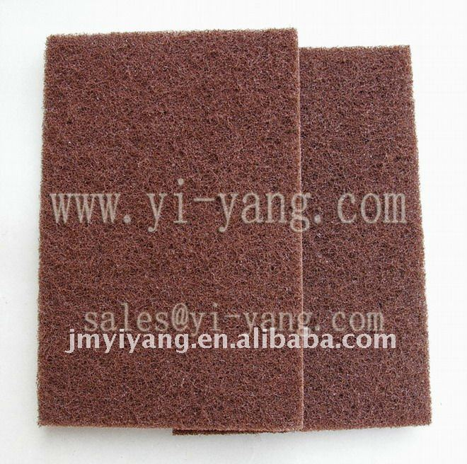 Abrasive Fiber scouring pad (new product)