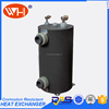 Shell Tubes heat exchanger , titanium heat exchanger coils for swimming pool