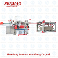 shangdong high-frequency core veneer making machine/plywood core jointer
