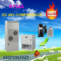 r134a globe telecom 48v bldc compressor 1800 btu boyard for solar air conditioner cooling