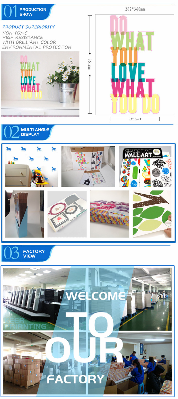 2015 New Top Quality Wall Stickers Wholesale