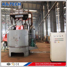Q3525 series rotary table type abrasive shot blasting machine for cleaning casting and disc spring