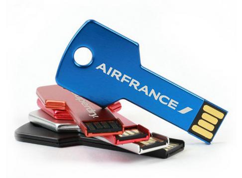 Hot Sale Metal Key Shape USB Flash Drive 64GB 32GB 16GB 8GB USB Pen Drive with Your Logo Customised