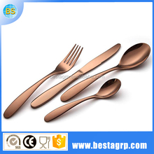 Stainless steel united gold cutlery,golds cutleries sets,gold rose cutlery