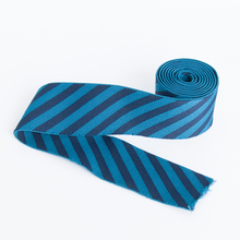 Hot selling custom cheap wide striped elastic ribbon for underwear