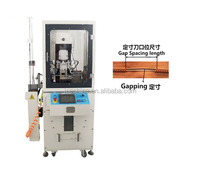 Hot New Products For 2015 JEE Auto Plastic Zipper Gapping Machine