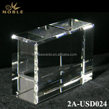 Custom Blank K9 Crystal Cube For Engraving