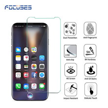 innovation product 2017 new mobile glass screen protector for iPhone X tempered glass protective film